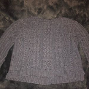 Chunky knit Kendall & Kylie sweater